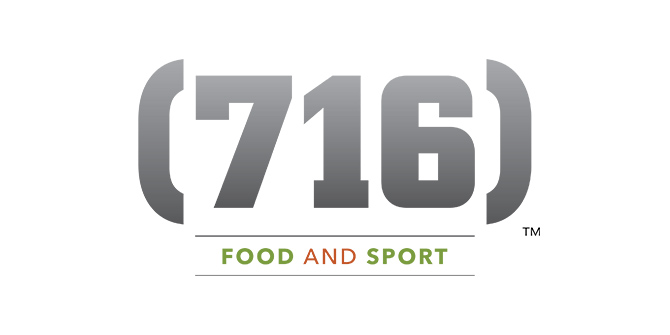 (716) Food and Sport Logo
