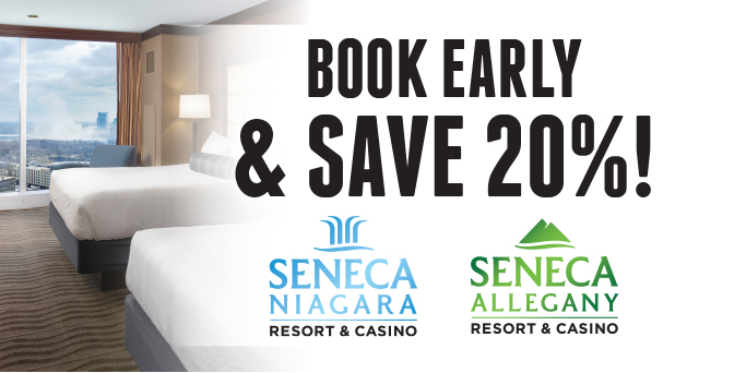 Book Early & Save Sale