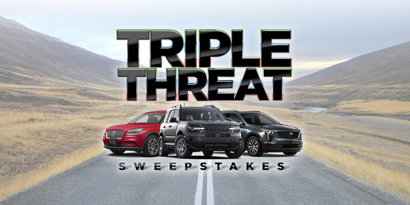 Triple Threat Sweepstakes